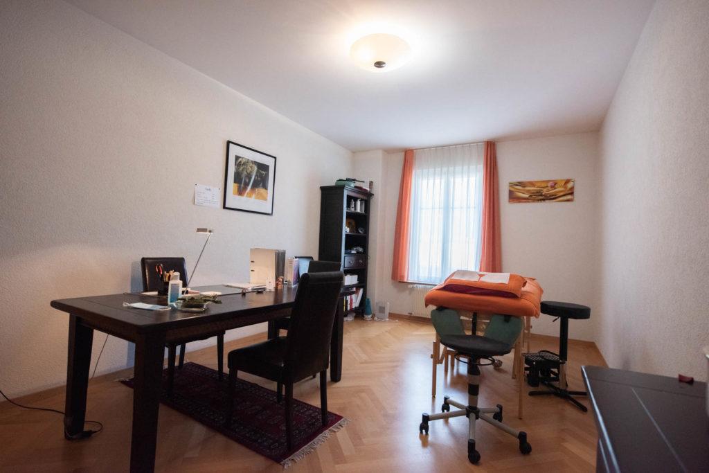 Intérieur du cabinet de Hannes Jacob à Neuchatel
